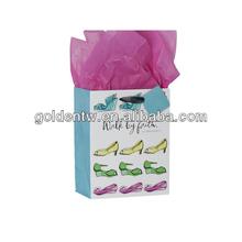 Hot sell customized logo fashion high heeled shoe gift bag
