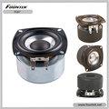 """Fountek fe87 3"""" e ferrite blindado sistema magnético, black alumínio bobina de voz falante de faixa completa"""