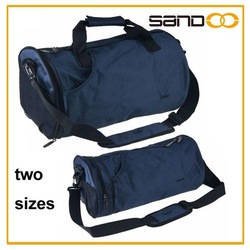 New arrival two colors shoulder bag , durable cylinder duffle bags