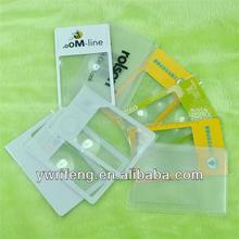 Formato carta di credito segnalibro lente, lettura magnifier, regali di promozione pubblicitaria
