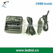 High quality 2-bay 18650 li-ion battery charger
