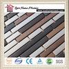 strip stainless steel kitchen backsplash mosaic tiles