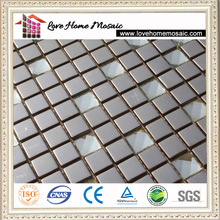 stainless steel mosaic and bathroom glass wall tile
