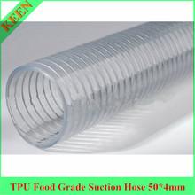 TPU transparent tube for gasoline -electrostatic prevention