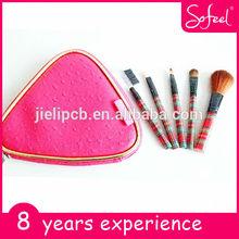 sofeel 5pcs mini makeup brush convenient to take