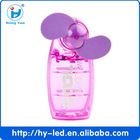 Handheld Mini Fan,Mini Plastic Fan,Colorful Mini Small Fan Suitable For Hot Summer