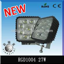 9-32v ip68 RGD1004 2150lm 27w truck work light bar, led work light 4wd