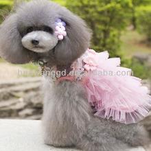 Wholesale pet dog summer dress, wedding dress 2014, netherlands wholesale