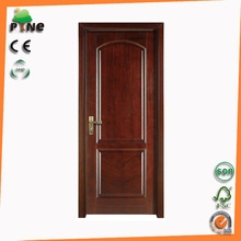 solid veneer wooden door with hardware