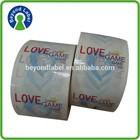 high durable waterproof self adhesive custom printing label,clear custom vinyl die cut stickers