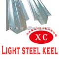 Quilha teto canal furring tamanhos / suspenso teto de metal canal furring