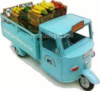 Antique design truck model - Vietnamese Farm Three-wheal vespa