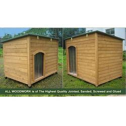 Wooden Cheapest Dog kennel for large dog DK013L