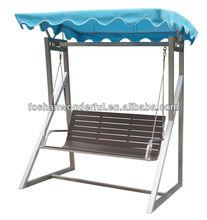 2014 new design stainless steel garden swing