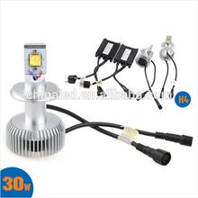 High/Low Beam KIT 12V~24V 5000K 3200LM 12V Car LED Headlight H4