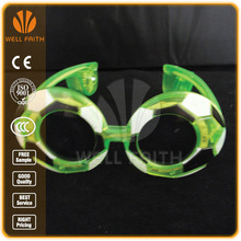 """Football"" Frame Ball Shaped Led Sunglasses/ Flashing Led Sunglasses"