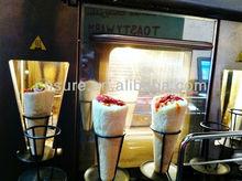 Pizza cone machine/cone pizza forming machine/PIZZA CONE MACHINE 4 cone maker