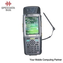 handheld usb uhf rfid reader with barcode scanner for Android OS and 3.5inch display