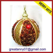 christmas glitter ball/christmas tree ball largest christmas ball
