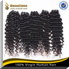 Cheap new coming hair extension virgin peruvian kinky curly hair high quality
