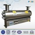 1-200t ss304/ss316 de alimentos y la industria de bebidas o de agua de la piscina de desinfección uv esterilizador de luz