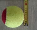 Alta calidad 75 mm suave de encargo multicolor jumbo pelota de tenis para los niños y de edad