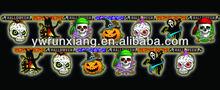 3D Paper Glitter Halloween Decoration/2014 Halloween Pumpkin Hanging Decoration