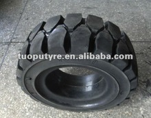 solid tire 16x6-8 for forklift industrial vehicles