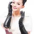 Mode winter handschuhe/2014 neuen design leder Handschuhe/warmen frauen lammleder plüsch ausgekleidet langen winter handschuhe Ärmel