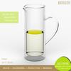 Heat Resistant 800ml-1200ml Pyrex Glass Big Jug / Water Pitcher