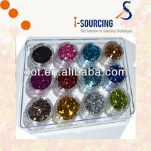 Competitive price solvent resistant glitter