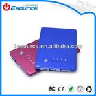2014 universual portable UPS &CE&FCC&Rohs slim power bank