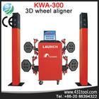 Used wheel alignment machine Launch 3D KWA 300 garage equipment for sale