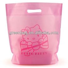 Fashion non woven hello kitty reusable shopping bag