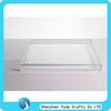 rectangle plexiglass food tray clear food tray acrylic rectangular tray
