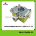 Detector de metal fixado na parede do detector de gás explosão- prova de alarme visual e sonoro de monitor de gás