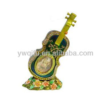 Classical Flower Decor Unique Design Guitar Craft (QF1482)