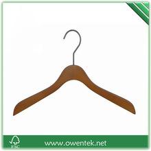 vintage hangers high quality wooden coat hanger, cheap clothes rack