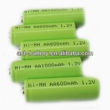 rechargeable nimh aa battery 1.2v/nimh aa 1000mah 1.2v battery