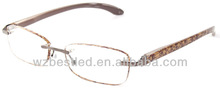 Rimless soft touch foster grant reading glasses