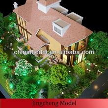 Real estate model / villa scale model / architectural model making