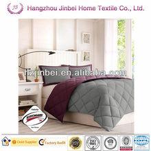 Purple cheap Alternative Duvet/Microfiber Quilt/Polyester Comforter