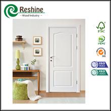 moldeada hdf imprimación blanca simple diseño de la puerta de madera