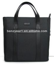 Durable leather handbags men famous brand