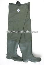 pvc tarpaulin fabric nylon hip waders