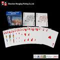 La publicidad de tipo personalizado impreso de papel jugando a las cartas, el papel de la tarjeta de juego