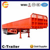 Tri-Axle 40t High Side Wall Cargo Trailer With High Quality and Beautiful Performance