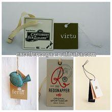 Clothing hang tag for 2014