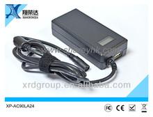Sharey universal uk to eu ac power adaptor 90W XP-AC90LA24 5v 2000ma output safety mark