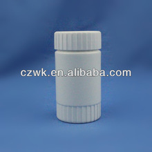 100g plastic pill bottle with children safety cap for medicine